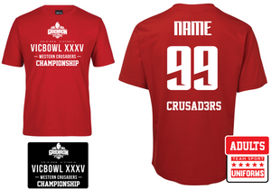 GV - Western Crusaders Championships XXXV Supporter Tees (2019)