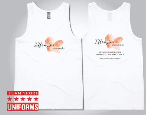 Tiffany's Photography - Womens Singlet (Tulip)