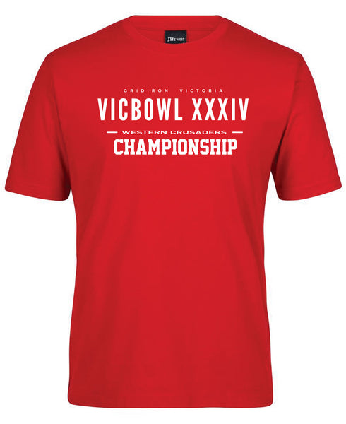 GV - Western Crusaders Championships XXXIV Supporter Tees (2018)