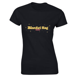 Blanket Hag Women's fitted T-shirt - Black