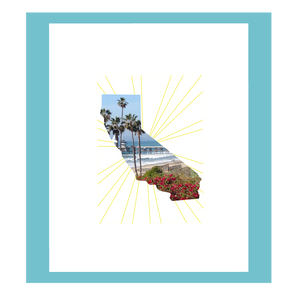 California Love 8 x 10 Art Print