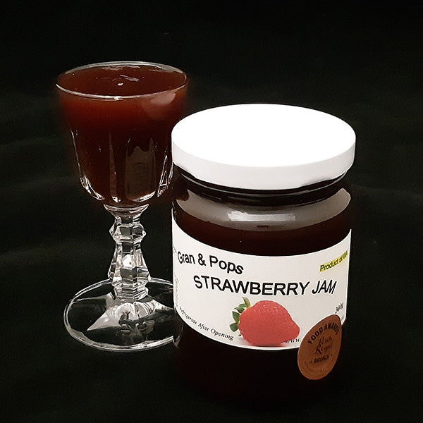 Strawberry Jam (GF, V) - 180grm
