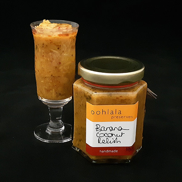 Oohlala Preserves Banana Coconut Relish