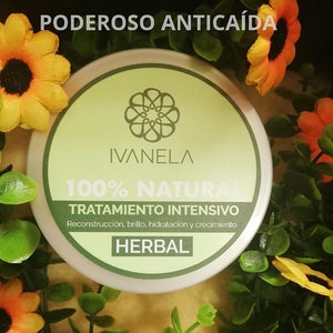 Tratamiento intensivo herbal 300g- Ivanela