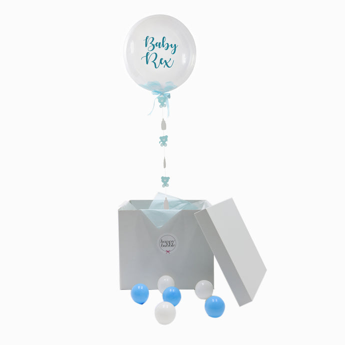 Baby Boy Bubble Box