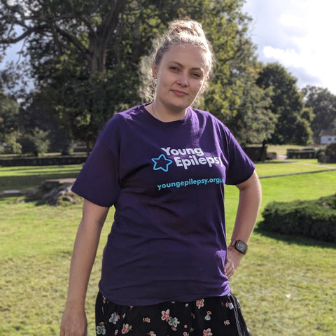 Young Epilepsy t-shirt