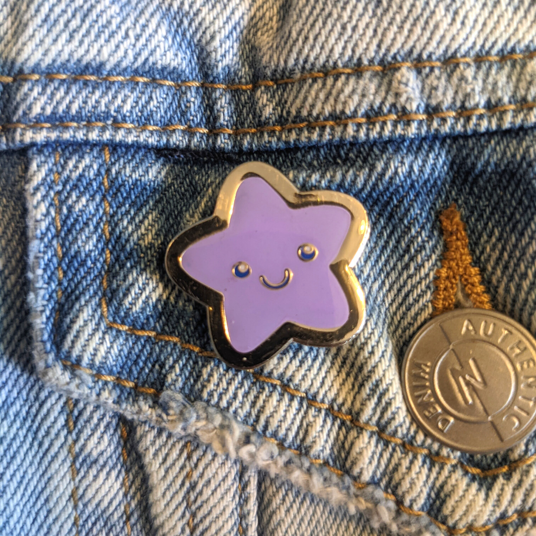 Purple Star pin - Limited Edition