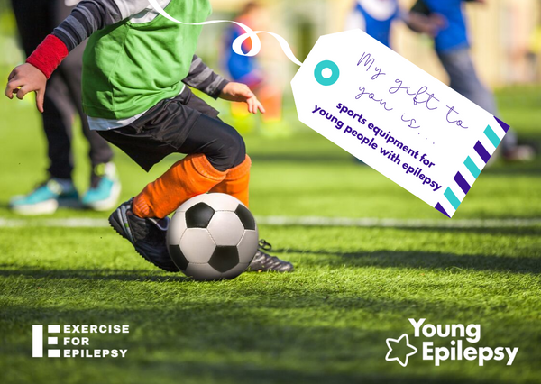 Fund sports equipment for young people with epilepsy