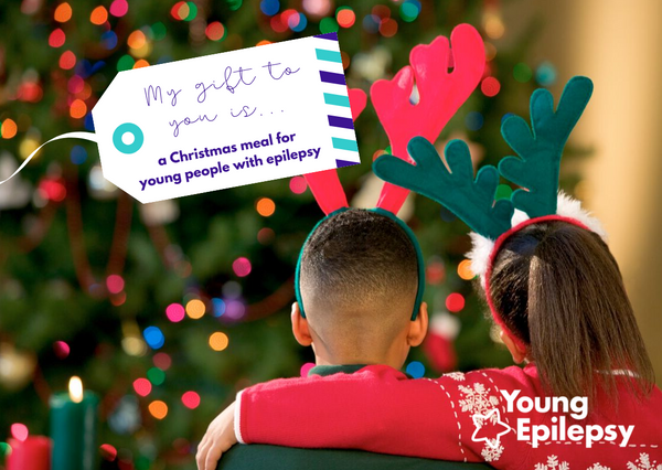 Fund a Christmas dinner for young people with epilepsy