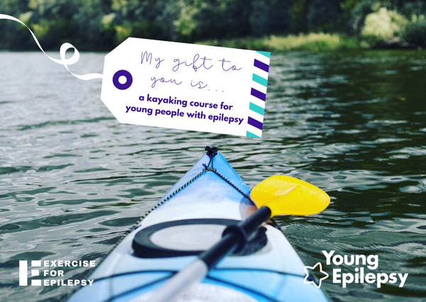 Fund a kayaking course for young people with epilepsy