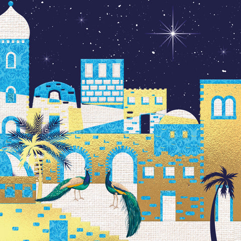'Royal Bethlehem' - Pack of 10 Christmas cards