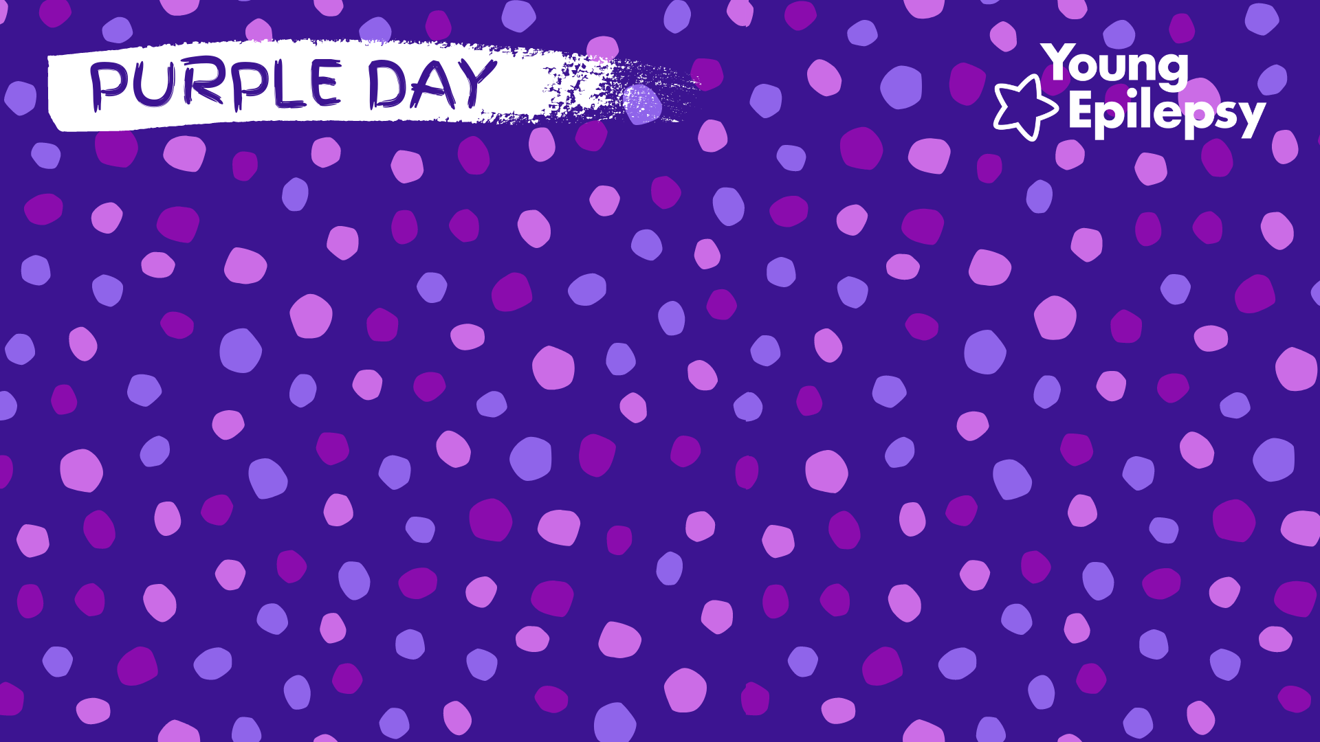 Purple Dots - Digital Background