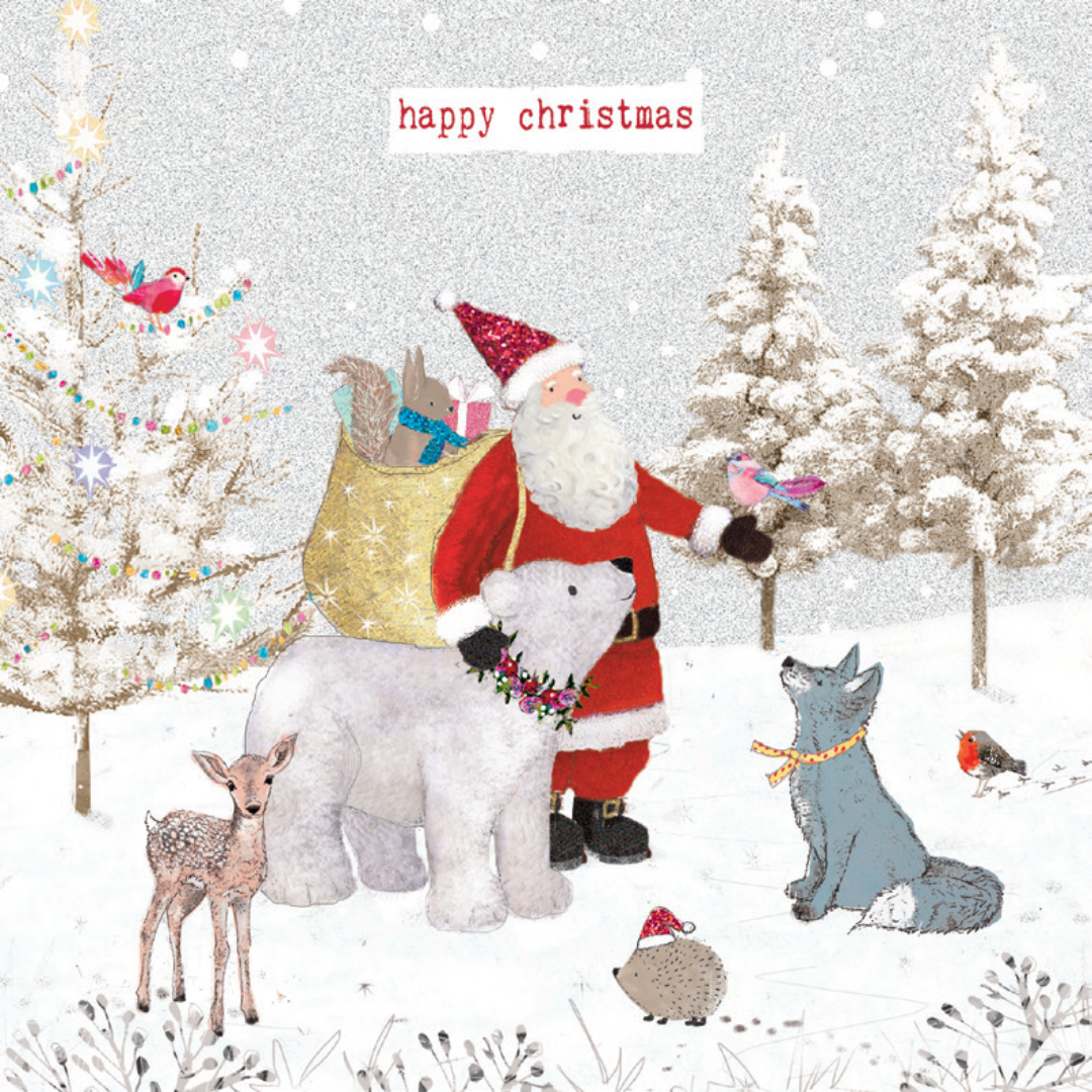 'Woodland Friends' - Pack of 10 Christmas cards
