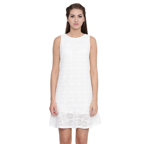 Off White Lace Dress