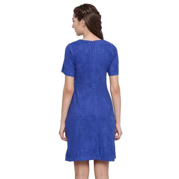 Chelsea Suede Shift Dress