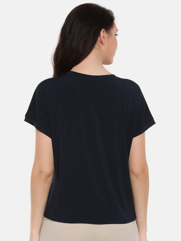 Solid Navy top