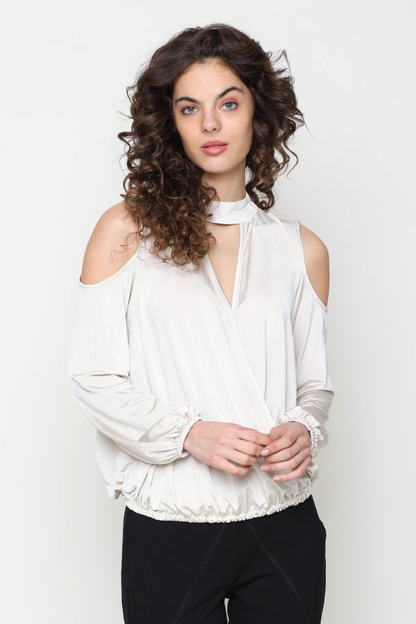 Cold Shouldered top