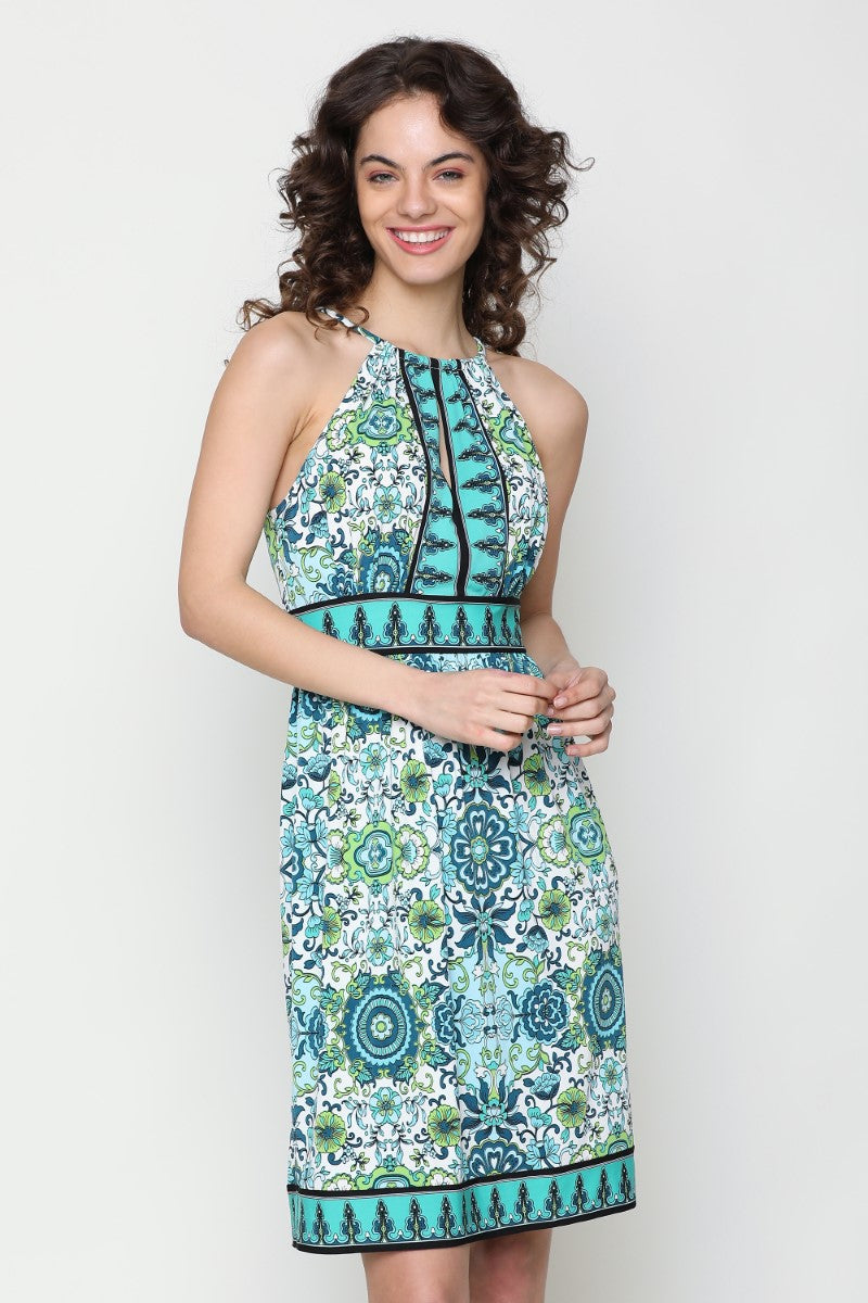 halter neck dress online india