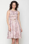 PINK PARTY WEAR DRESS