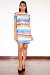 Stripe It Right Sequin Dress