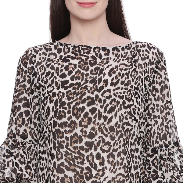 Animal Printed Top