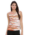 Multicolor Casual Top