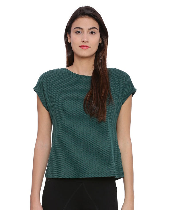 Mia Knit Green Top