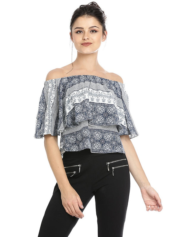 Shevoni Off-shoulder Top