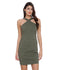 Khaki Bodycon Dress