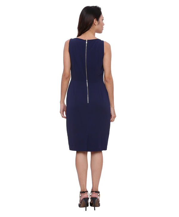 Blue Marine Shift Dress