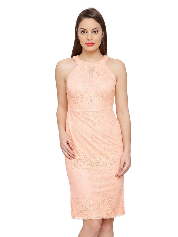 Mandy Lace Romance Sheath Dress