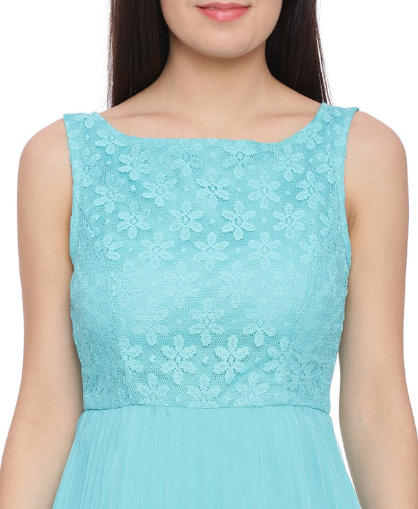 Turquoise Romance Dress