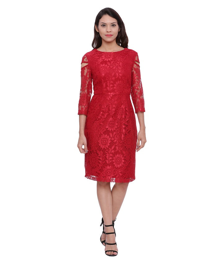detailed images where can i buy classic style Laisa Lace Dress