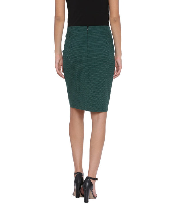 Mia Knit Green Skirt