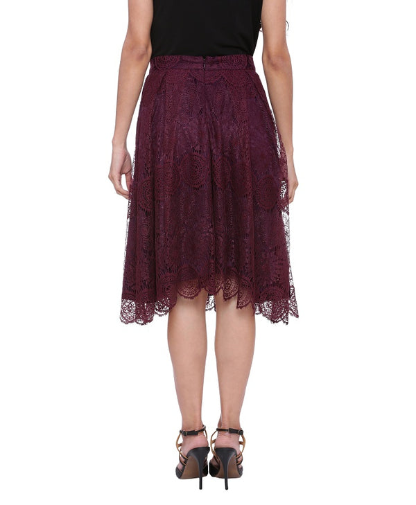 Ria Purple Skirt