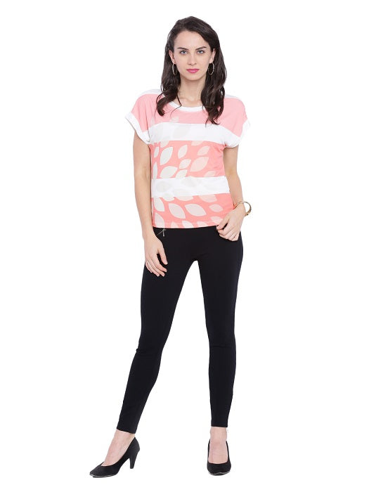 Baby Pink Striped Top