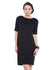 Black Formal Sheath Dress