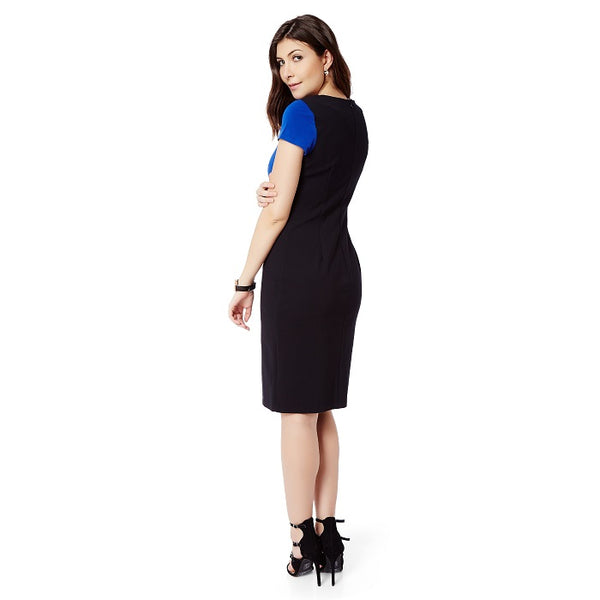 Blue Black Formal Dress