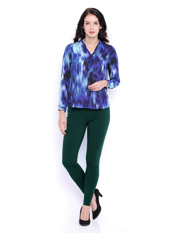Bottle Green Ponte Pant