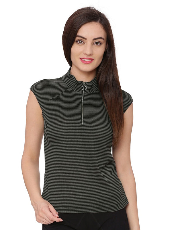 Clara High Neck Top