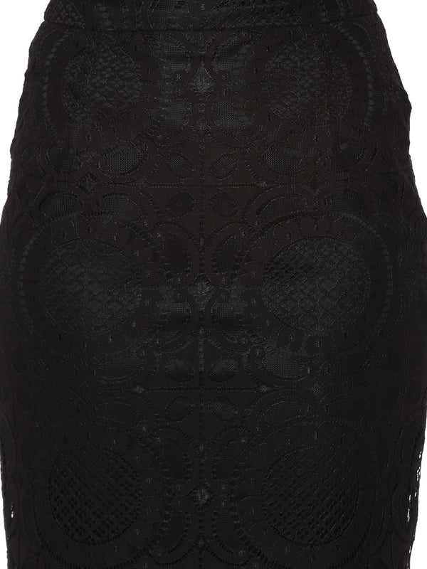 Coaster Lace Pencil Skirt