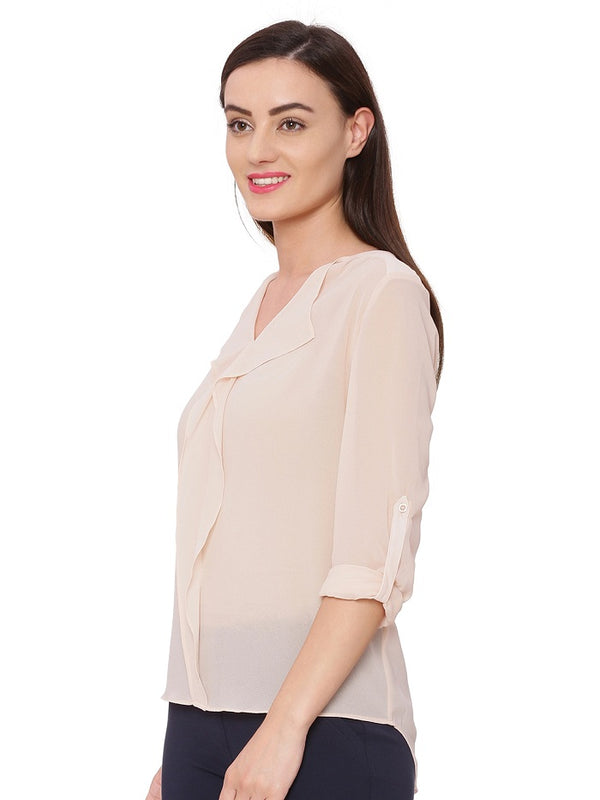 Frida Solid Blouse