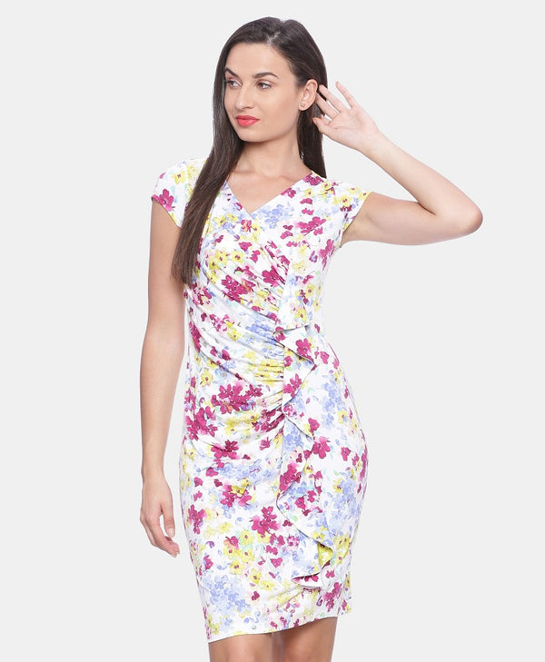 western party dresses,party dresses online india,western outfits online shopping,party wear dresses,multicolour western wear dress