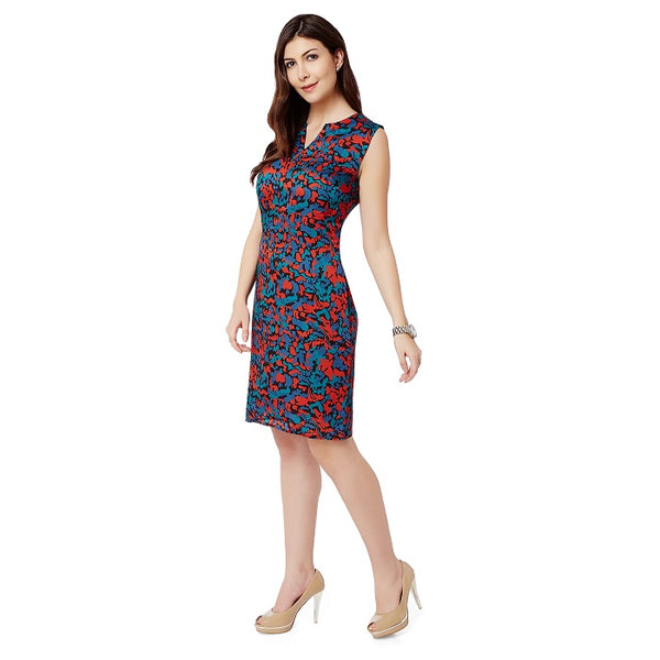 Multi colour Shift Dress