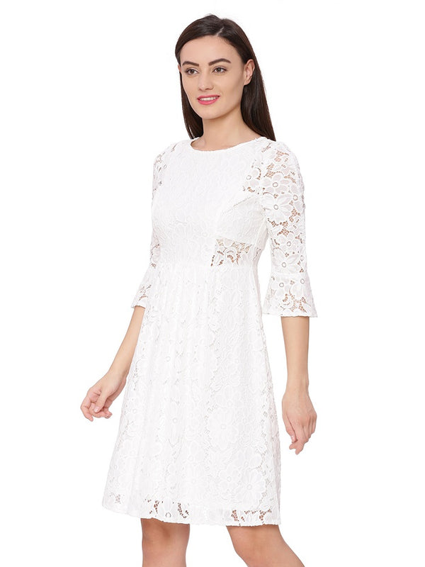 Nimes Bell Charm Lace Dress