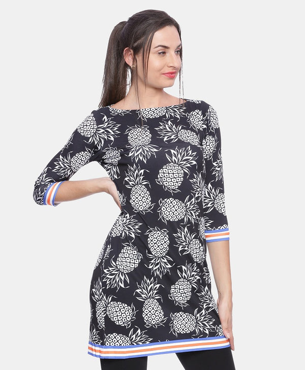 Pineapple Print Tunic