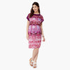 Pink Digital Print Dress