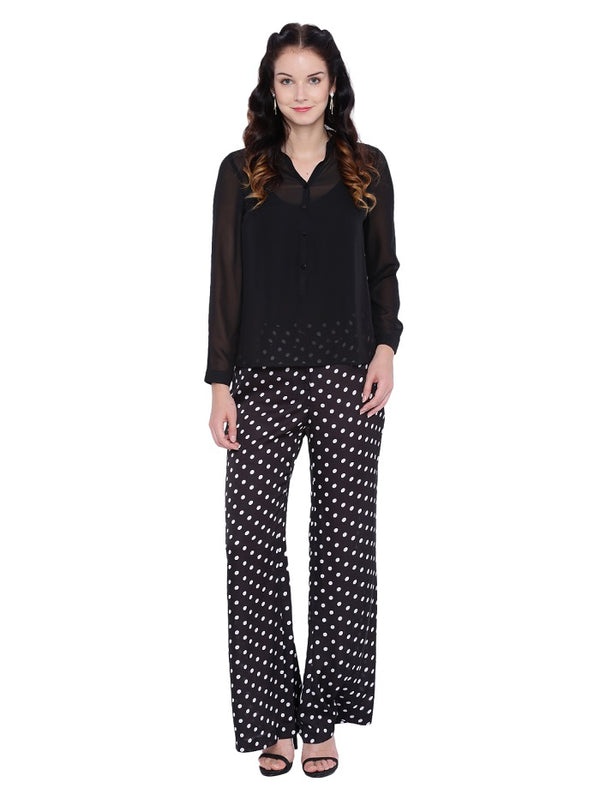 Polka Dot Retro Pants