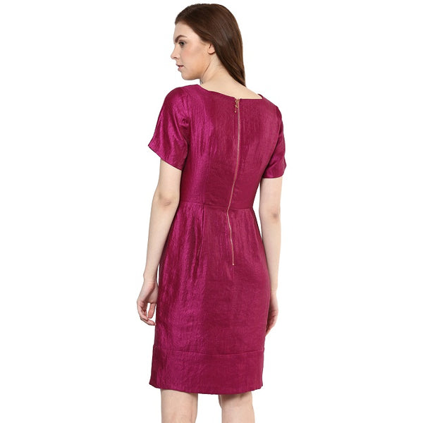 Purple Shimmer Dress