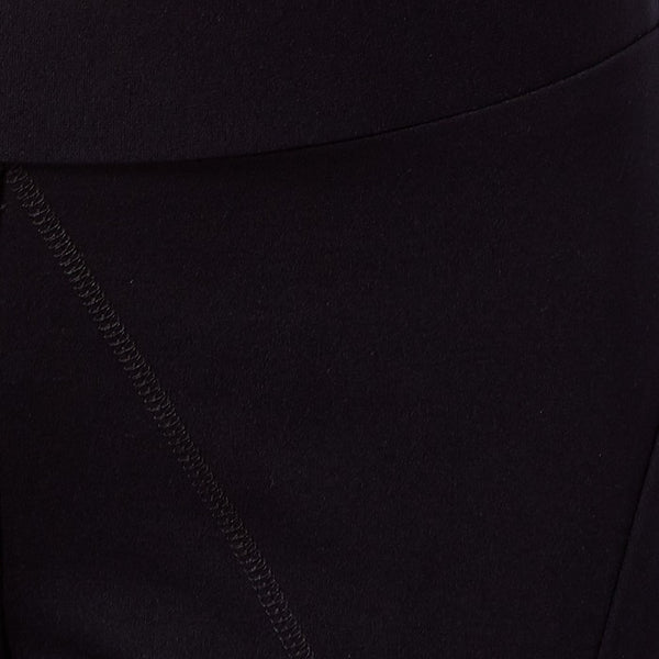 Solid Black Ponte Pant
